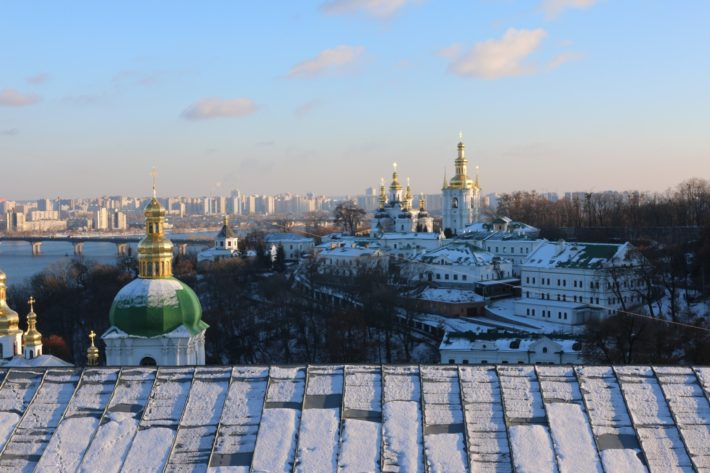 Vista de Kiev, Ucrânia